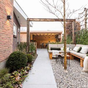Tuinhuis met overkapping – Bodegraven