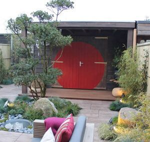 Tuinhuis met overkapping – Lelystad