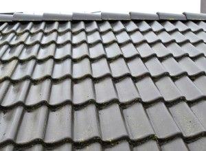 dakpannen zwart verkl